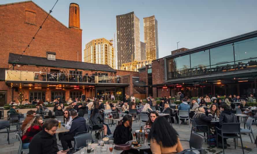 Best Outdoor Bars Manchester